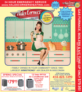 Hales Corners Heating 2017 Specials